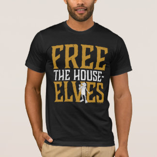 T-shirt Harry Potter | librement les elfes de Chambre