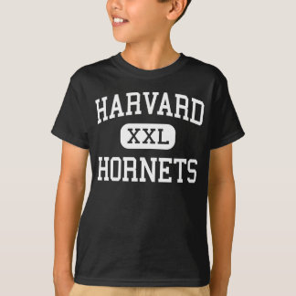 T-shirt Harvard - frelons - lycée - Harvard l'Illinois