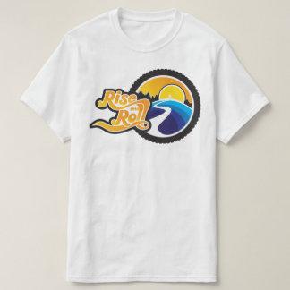 T-shirt hausse et cycle de petit pain