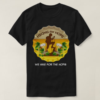 T-shirt Hausse pour des houblon logo foncé de capsule de