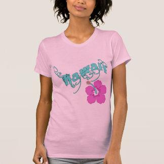 T-shirt Hawaï avec des produits de ketmie