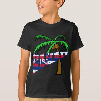 T-shirt Hawaï avec des produits de palmier