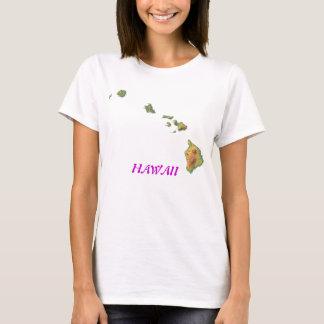 T-shirt Hawaï-carte, HAWAÏ