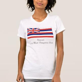 T-shirt Hawaï, Hawaii27th la plupart d'état dangereux