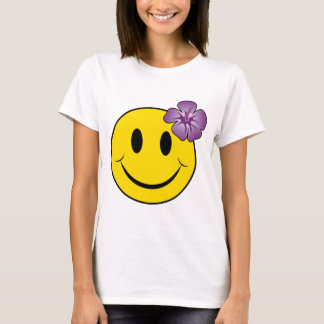 T-shirt Hawaïen heureux