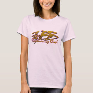 T-shirt Hawaïen par sang avec la ketmie