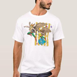 T-shirt Hawkman et Hawkwoman