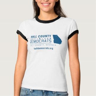 T-shirt HCD : Le comté de Hall Démocrate
