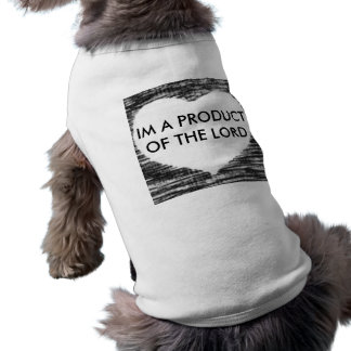 T-shirt heart1, IM UN PRODUIT DU SEIGNEUR