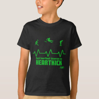 T-shirt heartbeat scooter