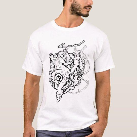T-shirt heartbike
