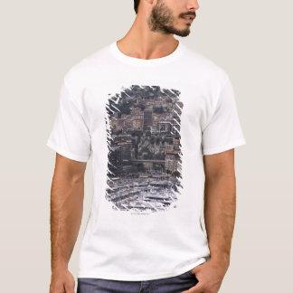 T-shirt Hébergez, vue verticale, Monte Carlo, français