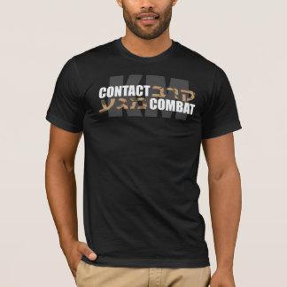 T-shirt Hébreu Camo de Krav Maga