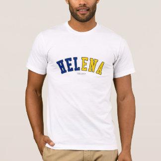T-shirt Helena dans des couleurs de drapeau d'état du