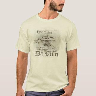 T-shirt Helicopter Da Vinci
