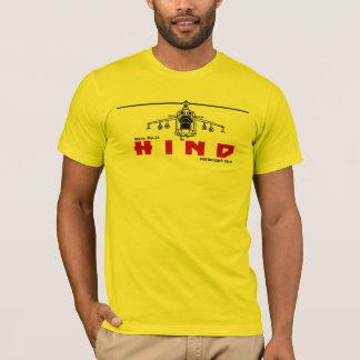 T-shirt HÉLICOPTÈRE DE COMBAT RUSSE DE DERRIÈRE de l'ARMÉE