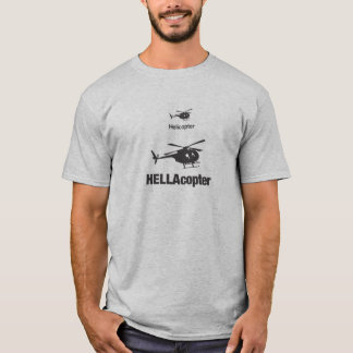 T-shirt HELLAcopter