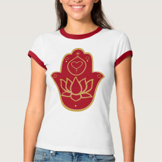 T-shirt Henné Hamsa Lotus