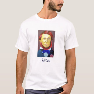 T-shirt Henry David Thoreau