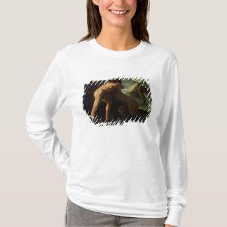T-shirt Hercule combattant avec le lion de Nemean