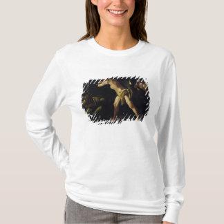 T-shirt Hercule combattant avec l'hydre de Lernaean