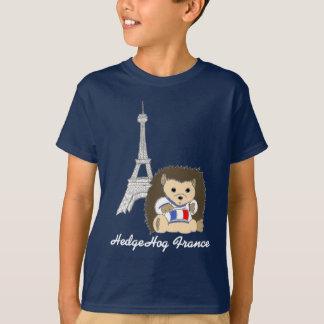 T-shirt Hérisson dans le tee - shirt foncé d'enfants de la