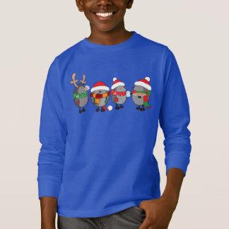 T-shirt Hérissons de Noël