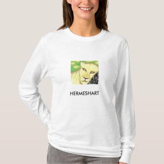 T-shirt Hermes naturel H, HERMESHART