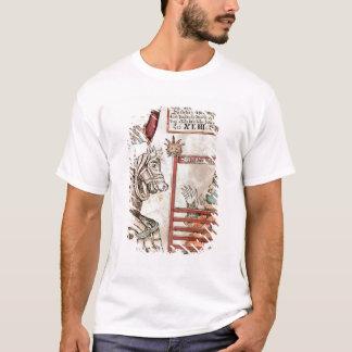 T-shirt Hermod à cheval sur Sleipnir