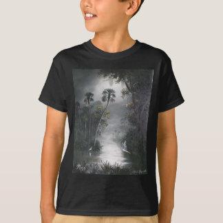 T-shirt Héron brumeux de rivière de la Floride