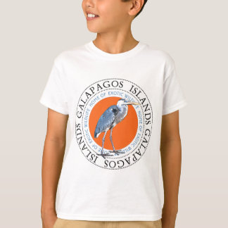 T-shirt Héron de grand bleu