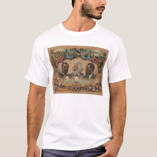 T-shirt Héros de la course colorée Frederick 1881 Douglass