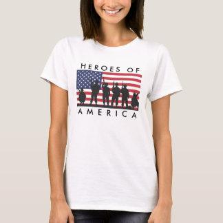 T-shirt Héros de l'Amérique - les Etats-Unis marquent la