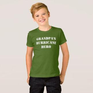 T-shirt Héros de l'ouragan du grand-papa