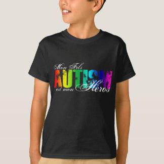 T-shirt Héros de lundi Fils - autisme