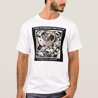 T-shirt Heure de casser le cycle