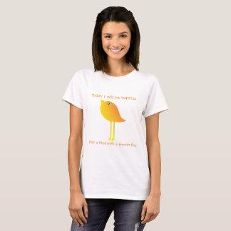 T-shirt Heureux