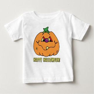 T-shirt heureux de citrouille de garçon de