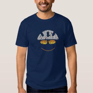T-shirt heureux de cycliste de montagne