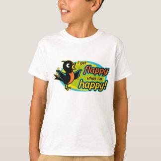 T-shirt heureux de Flappy