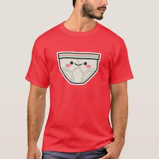 T-shirt heureux de slip