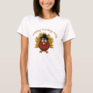 T-shirt heureux de thanksgiving de jour de la
