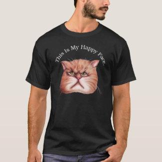 T-shirt heureux de visage