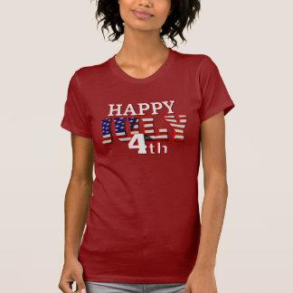 T-shirt heureux du 4 juillet