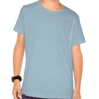 T-shirt heureux mignon d enfants d orignaux de ban