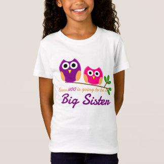 T-Shirt Hibou, conjecture qui va être une grande soeur
