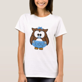 T-shirt hibou de bébé