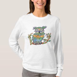 T-shirt Hibou d'étincelle