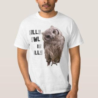 T-shirt Hibou idiot