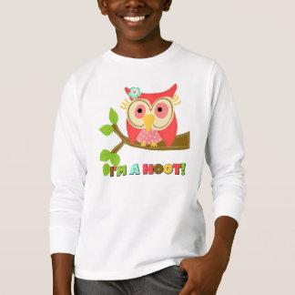 T-shirt Hibou je suis une huée